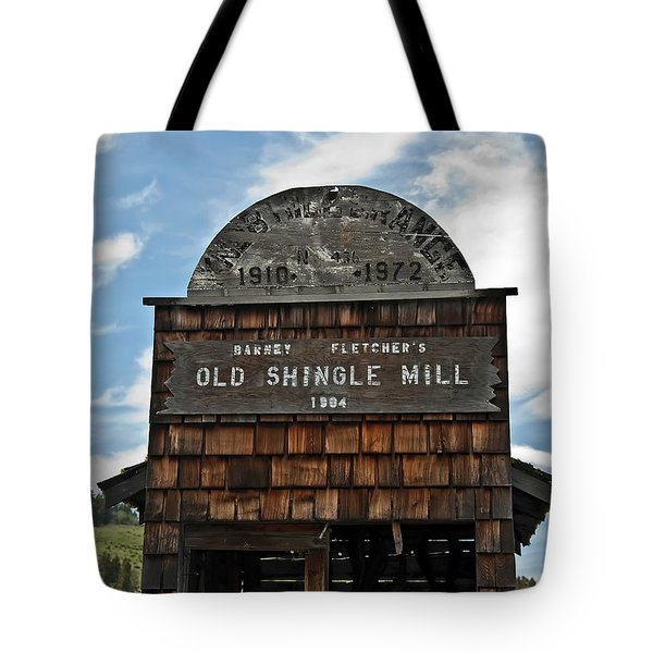 Antique Shingle Mill Tote Bag