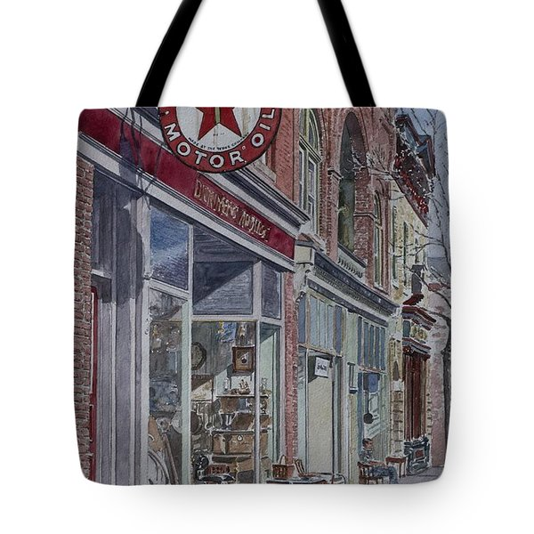 Antique Shop Beacon New York Tote Bag by Anthony Butera