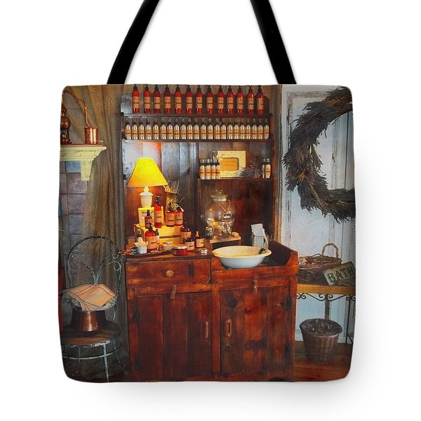 Antiques And Fragrances Tote Bag by Glenn McCarthy Art and Photography