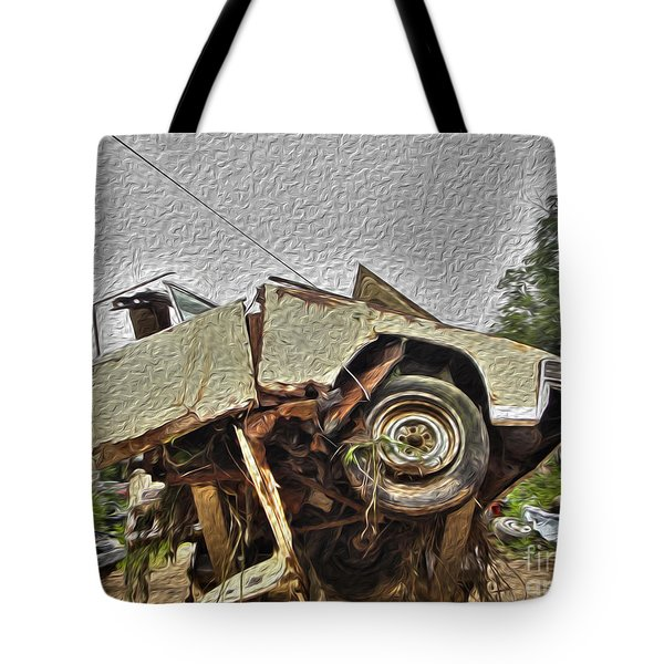 Antiques Broken Tote Bag