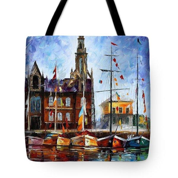 Antwerp - Belgium Tote Bag by Leonid Afremov