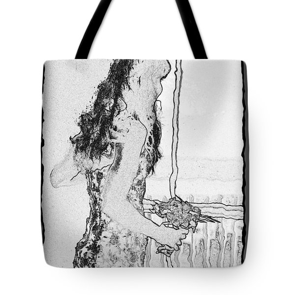 Anxiously Waiting Tote Bag by Leticia Latocki