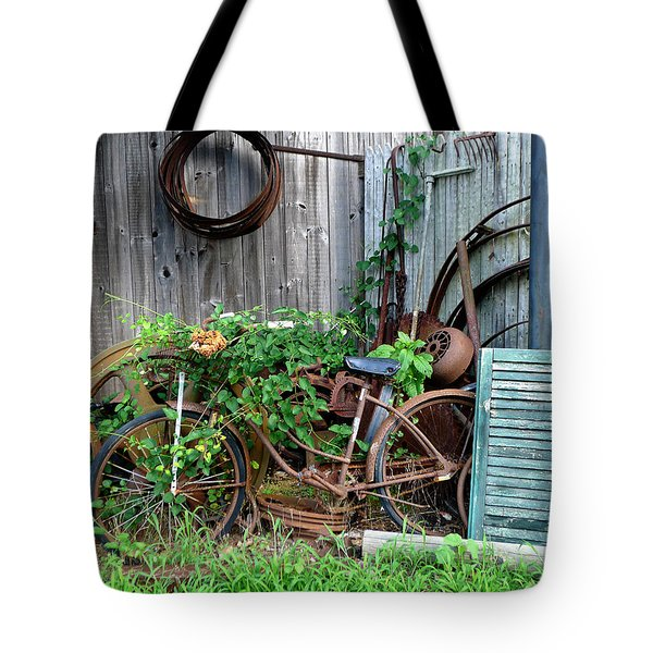 Any Old Iron Tote Bag by Richard Reeve