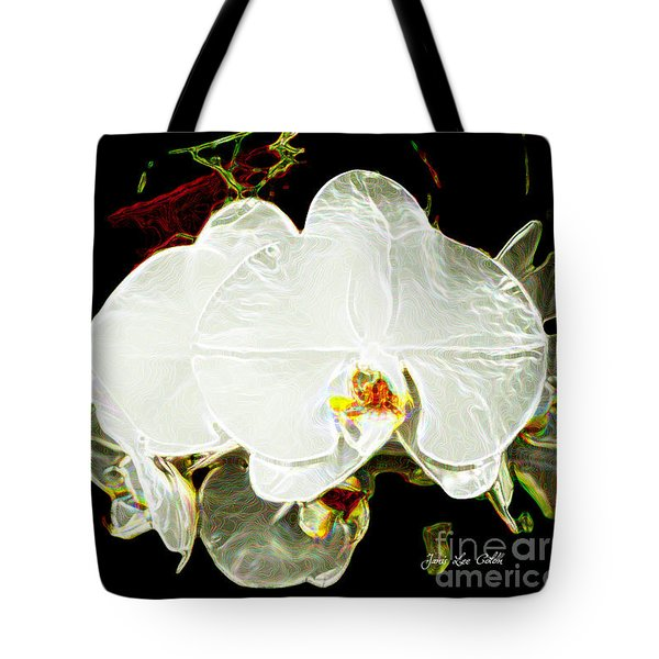 Aos White Orchid 1 Tote Bag