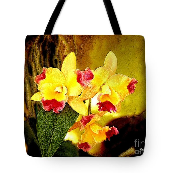Aos Yellow Orchid 1 Tote Bag