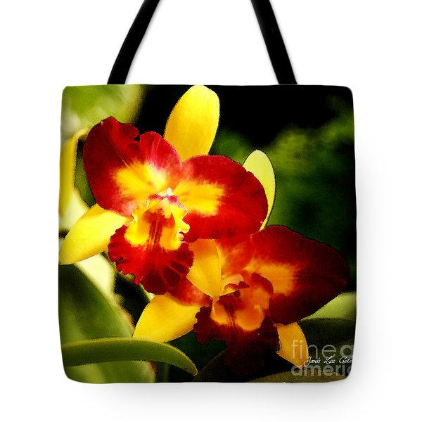Aos Yellow Orchid 2 Tote Bag
