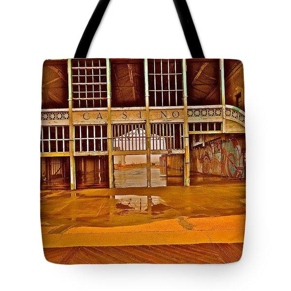 Ap Casino Tote Bag by Joe  Burns
