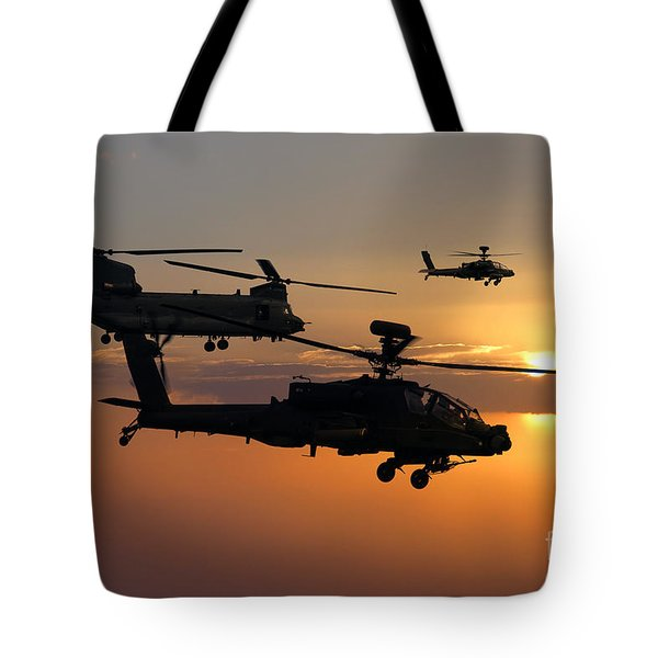 Apache Escort  Tote Bag