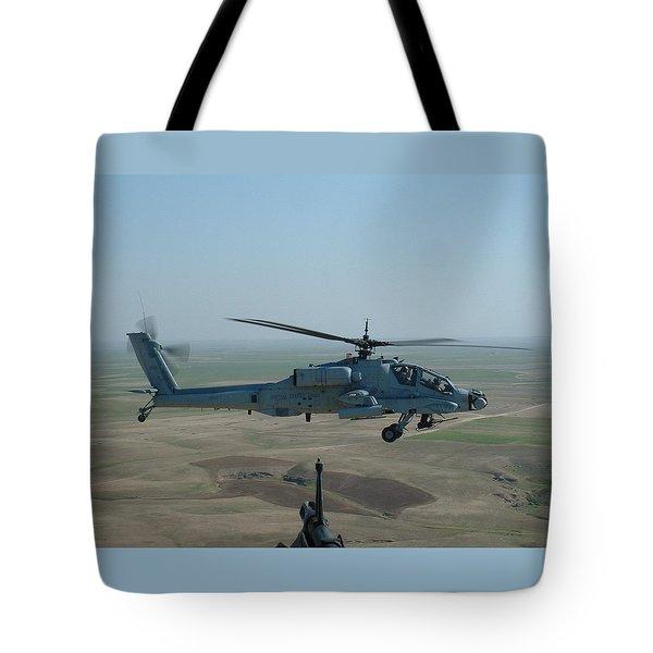 Apache Gray Tote Bag
