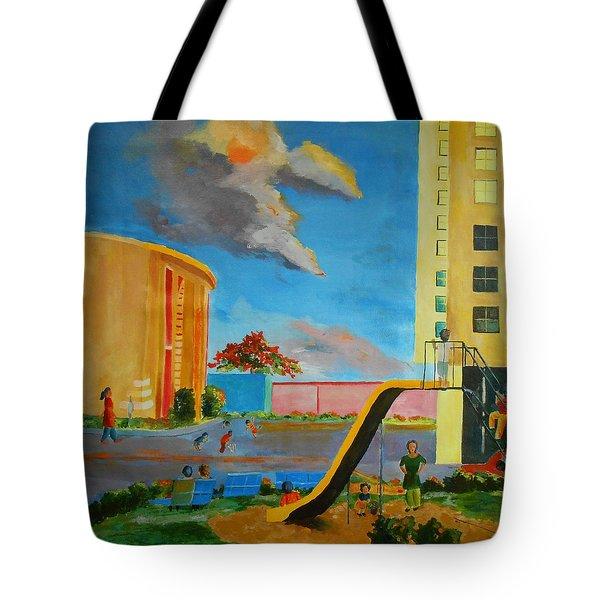 Apartment Living Tote Bag