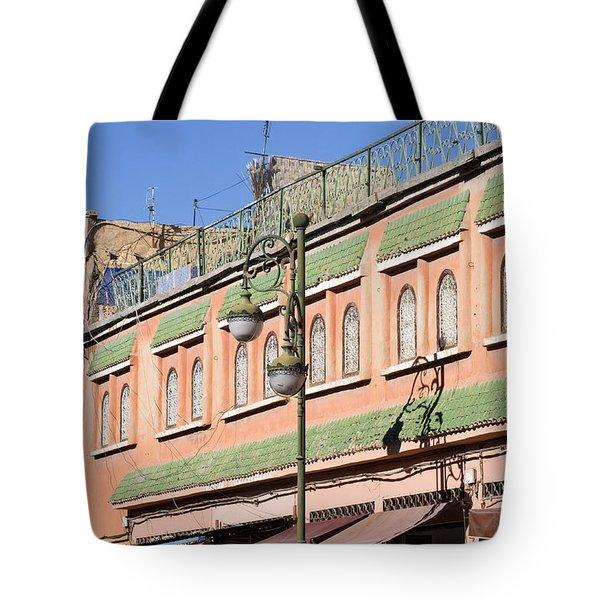 Apartment Windows Tote Bag