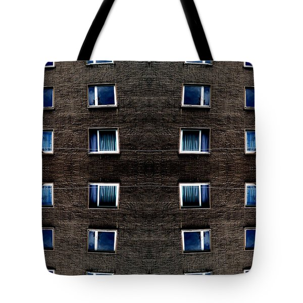 Apartments In Berlin Tote Bag by Andy Prendy
