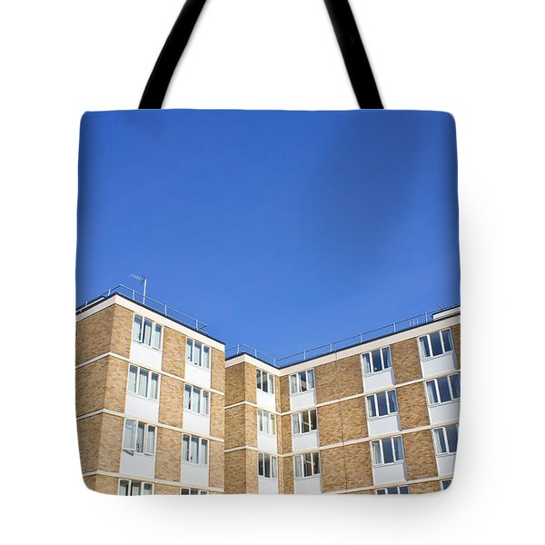 Apartments Tote Bag by Tom Gowanlock