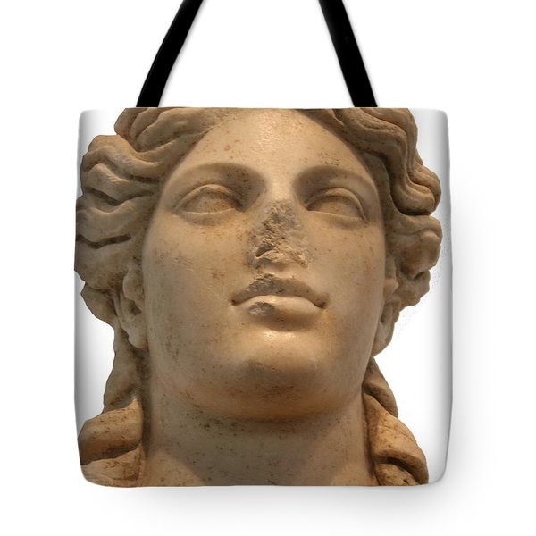Aphrodite The Goddess Of Love And Beauty  Tote Bag by Tracey Harrington-Simpson
