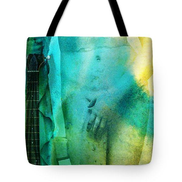 Aphrodite's First Love - Guitar Art By Sharon Cummings Tote Bag
