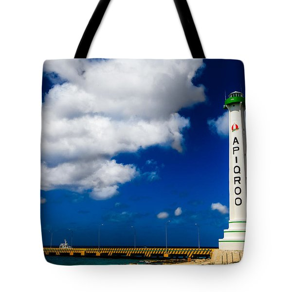 Apigroo Lighthouse Tote Bag