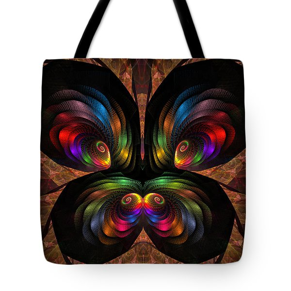 Apo Butterfly Tote Bag by GJ Blackman