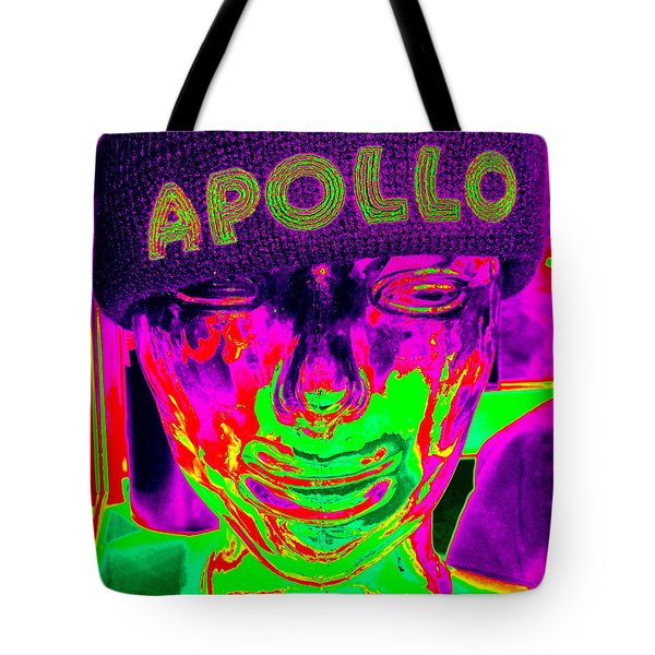 Apollo Abstract Tote Bag by Ed Weidman