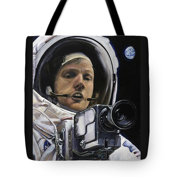 Apollo- For Mankind Tote Bag by Simon Kregar