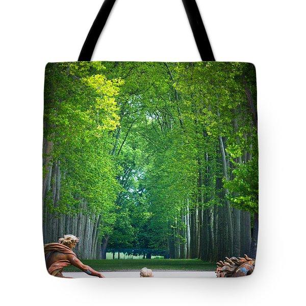 Apollo Fountain Tote Bag by Inge Johnsson