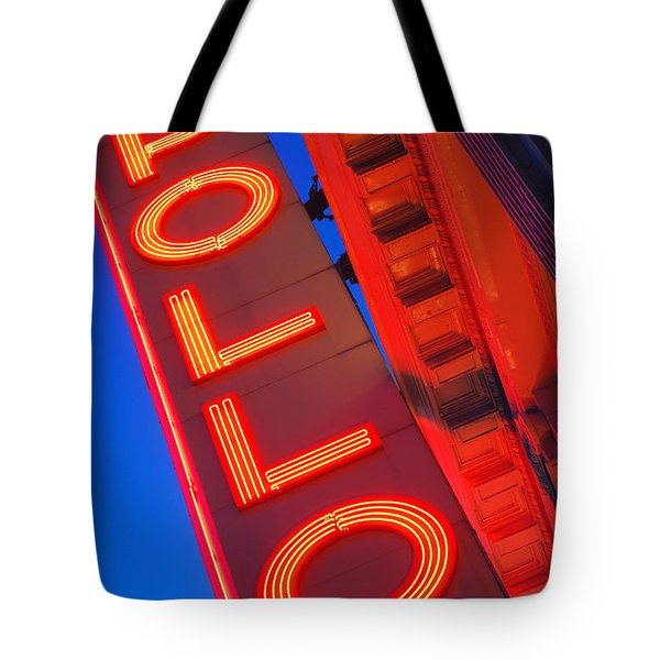 Apollo Nights Tote Bag by James Kirkikis