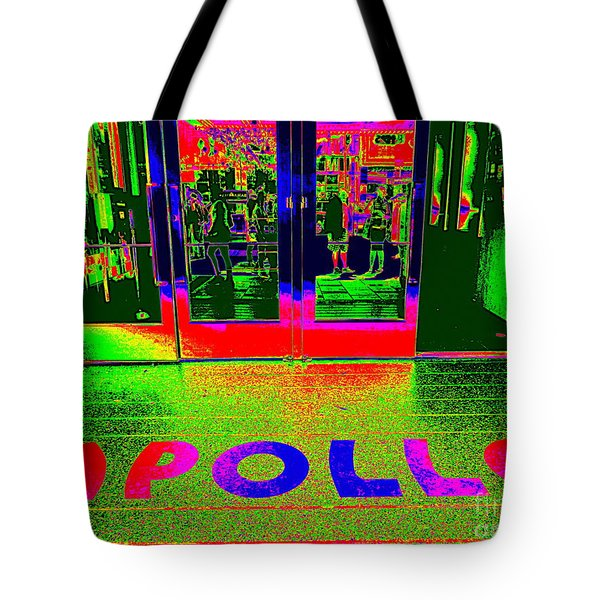 Apollo Pop Tote Bag by Ed Weidman