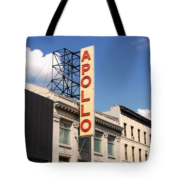 Apollo Theater Tote Bag by Martin Jones