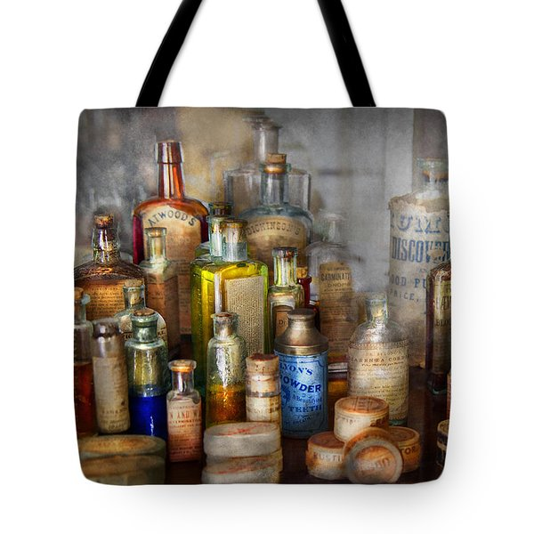 Apothecary - For All Your Aches And Pains  Tote Bag