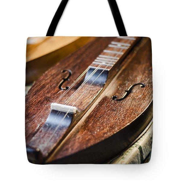 Appalachian Dulcimer Tote Bag