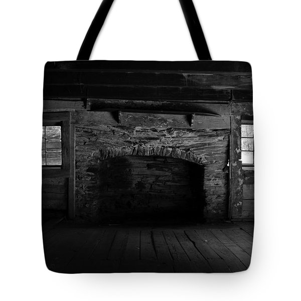 Appalachian Fireplace Tote Bag by David Lee Thompson