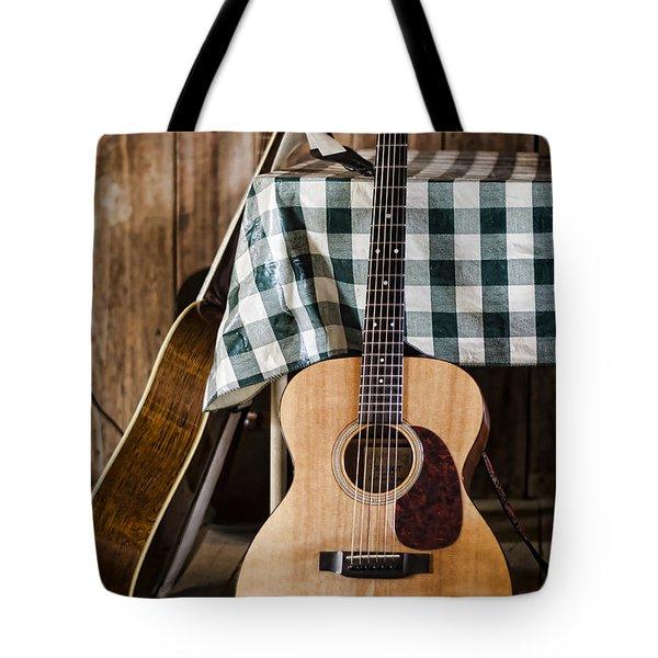 Appalachian Music Tote Bag by Heather Applegate