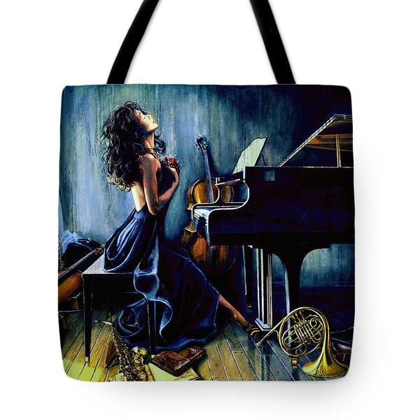 Appassionato Tote Bag by Hanne Lore Koehler