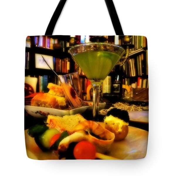 Appetizers Tote Bag by KD Johnson