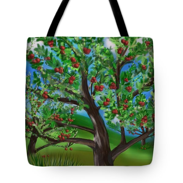 Apple Acres Tote Bag