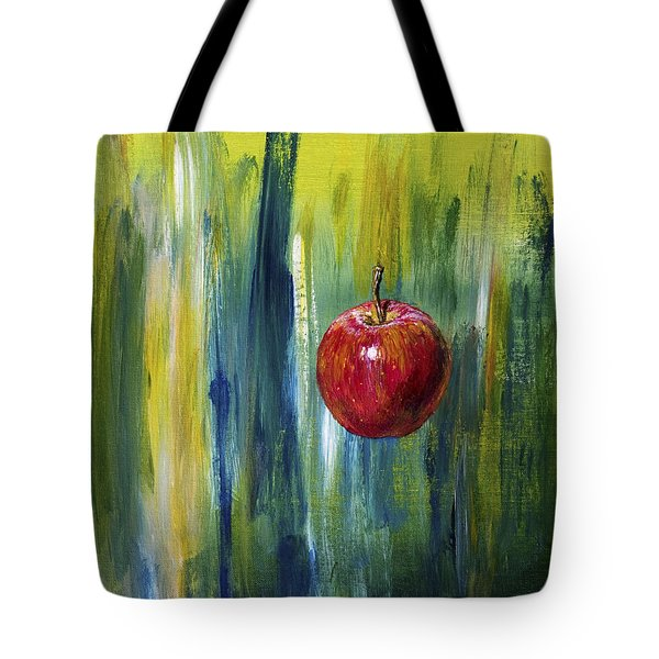Apple Tote Bag by Arturas Slapsys
