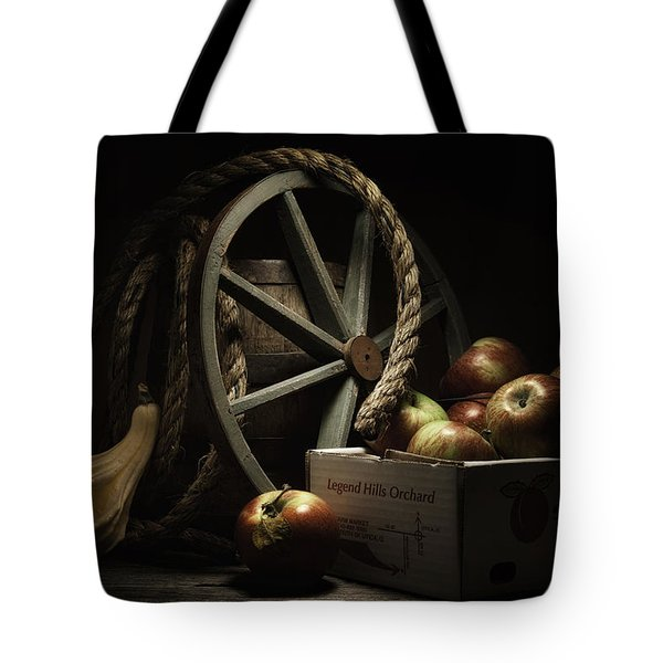 Apple Basket Still Life Tote Bag