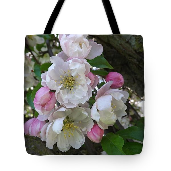 Apple Blossom Bouquet Tote Bag
