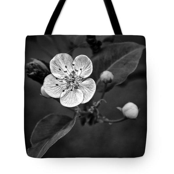 Apple Blossom On The Farm Tote Bag