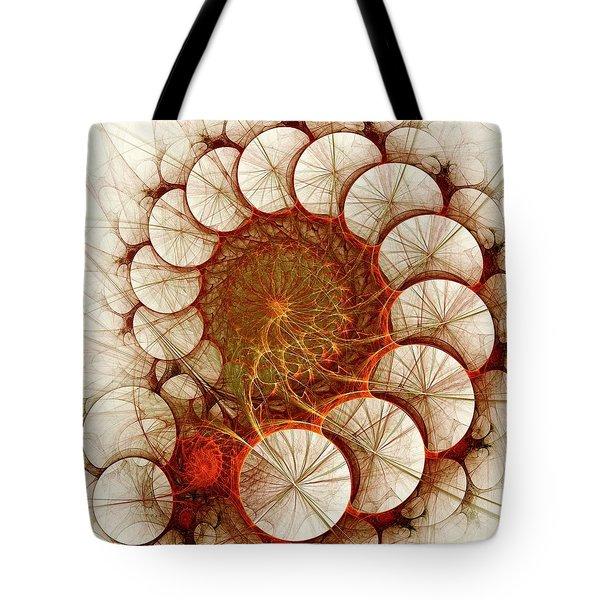Apple Cinnamon Tote Bag by Anastasiya Malakhova
