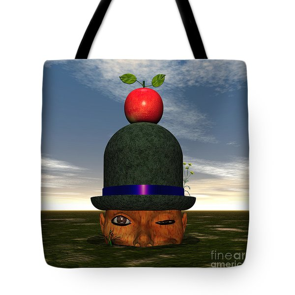 Apple On A Derby Tote Bag