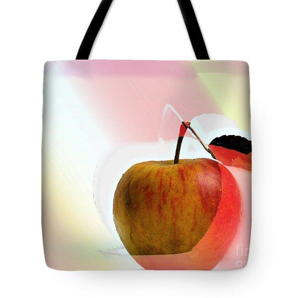 Apple Peel Tote Bag