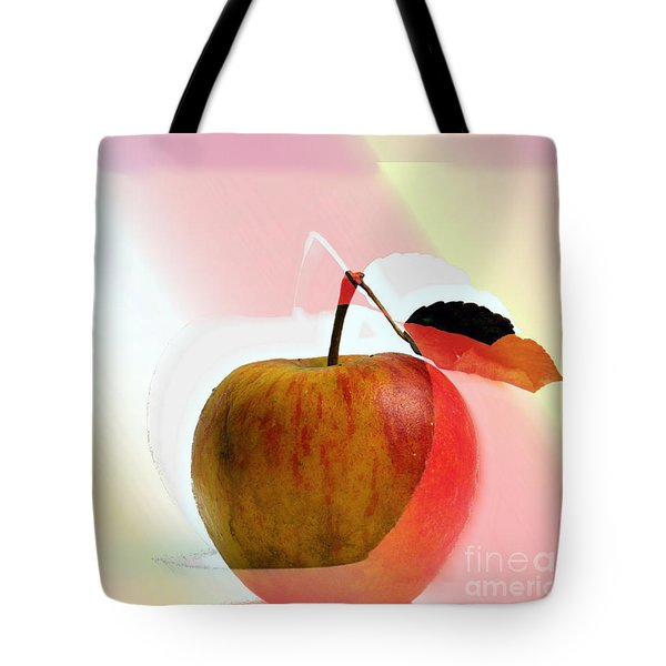Apple Peel Tote Bag