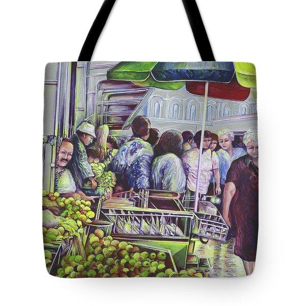 Apple Pie Requires Apples Hungary Tote Bag by Gaye Elise Beda
