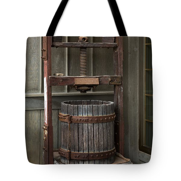 Apple Press Tote Bag