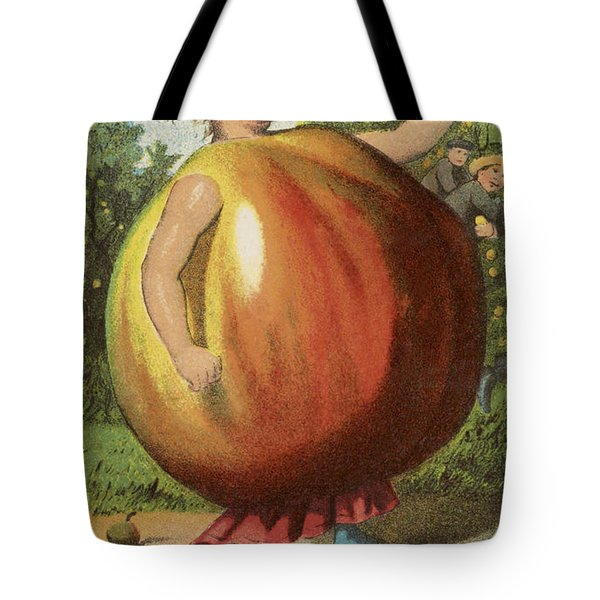 Apple Sauce Tote Bag by Aged Pixel