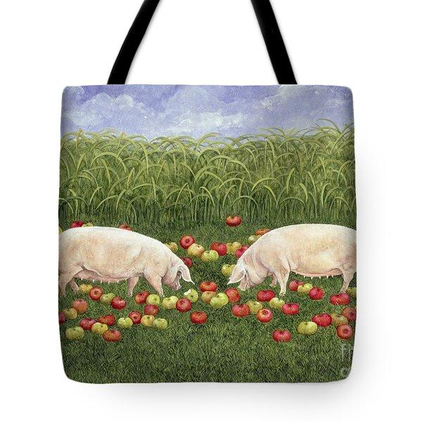 Apple Sows Tote Bag by Ditz