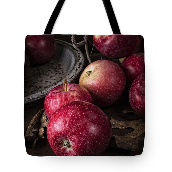 Apple Still Life Tote Bag by Edward Fielding
