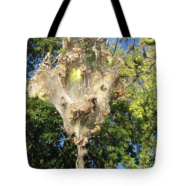 Apple Trap Tote Bag