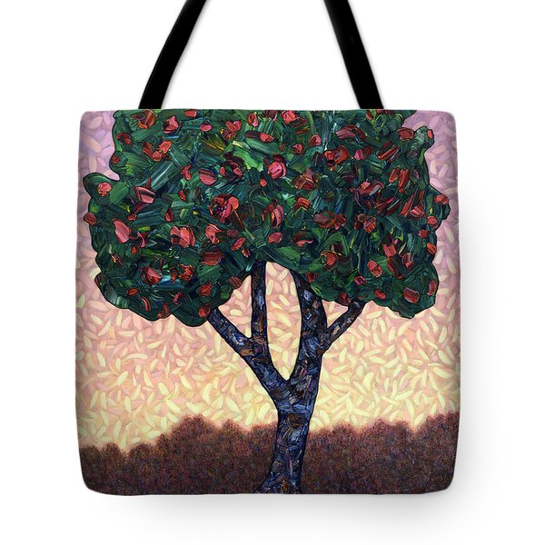 Apple Tree Tote Bag