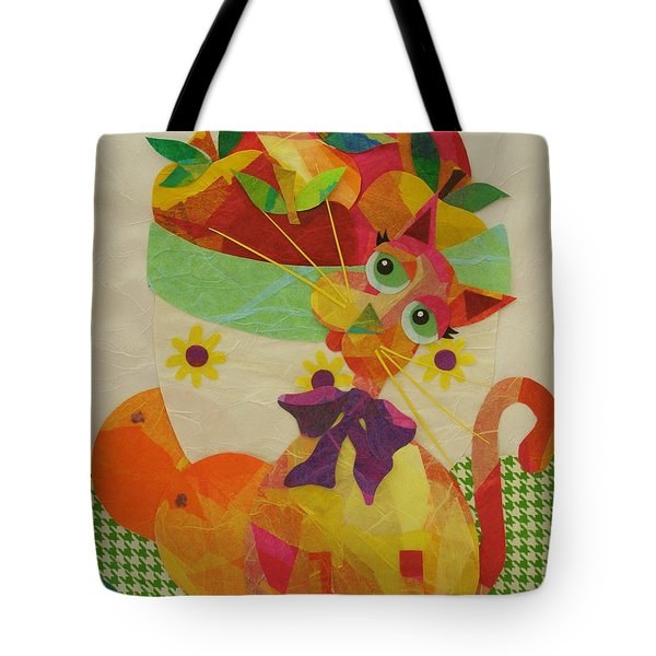 Apples And Jackie Tote Bag